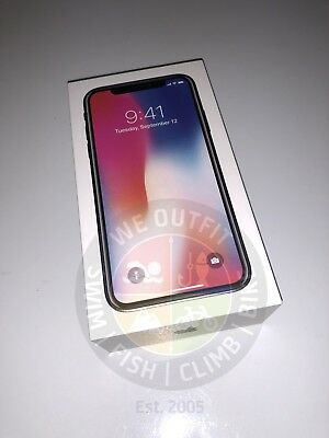 New Apple iPhone X 64GB Unlocked Space Gray Smartphone Warranty CDMA GSM