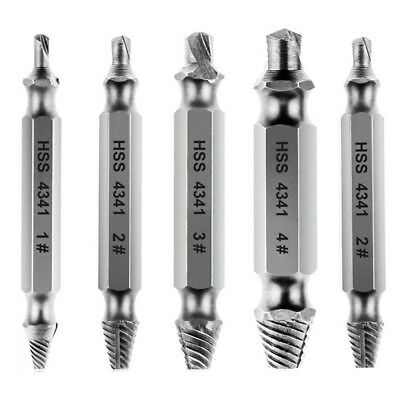 5 Pieces screwdriver extractor screwdriver set screw from HSS4341-silver O7E9