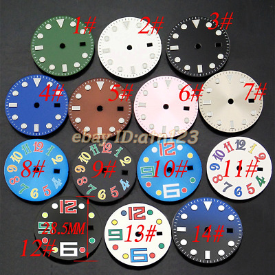 28.5mm Sterile Dial Fit Mingzhu 2813/3804 Miyota Automatic Movement 40mm Watches