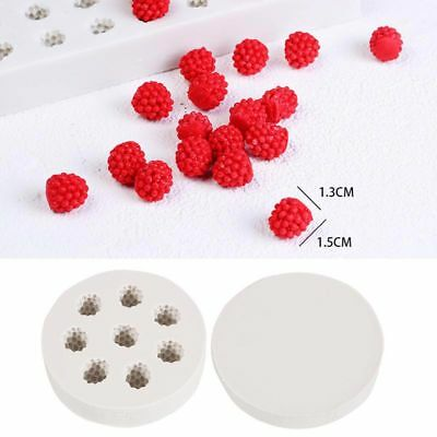 Cute 3D Blueberry Mulberry Fruit Silicone Cake Mold Baking Decorating Tools