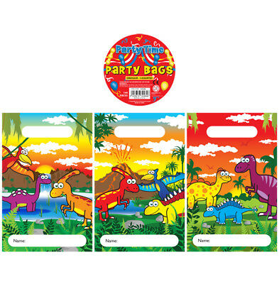 DINOSAUR DINO Kids Birthday Party Loot Treat Bags Fillers / Favours Choose Qty