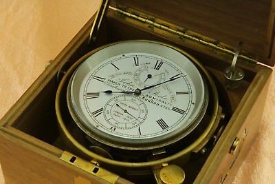 Marine chronometer John Poole maker to the admiralty very rare!!!