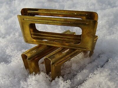 Set of 3x CARCANO clips * SMI 29 ?1929?*very nice ITALIAN ARMY-- made in brass-