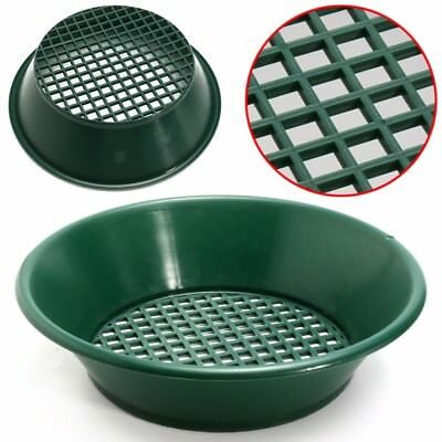Traditional Gold Rush Sifting Pan Classifier Mesh Screen Sieve Pan 14'' Detector