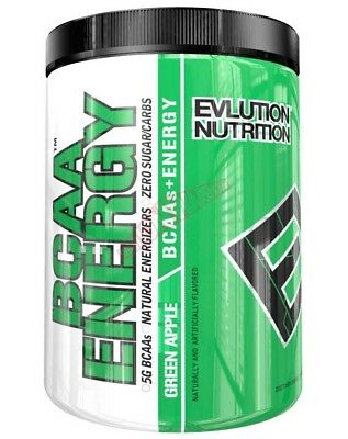 Evlution Nutrition BCAA ENERGY 30Serves *USA Brand- Green Apple Or Orange Dream