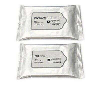 TONYMOLY Pro Clean Soft Cleansing Tissue 8CT x 2EA