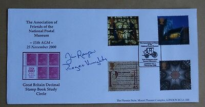 Spirit & Faith 2000 Gb Decimal Stamp Book Study Circle Postal Museum Signed Fdc
