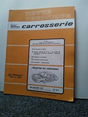 Revue technique automobile'caroserie ' Renault 30