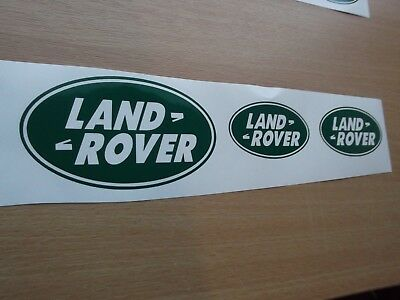 Land Rover  Sticker set Vinyl Decal X6