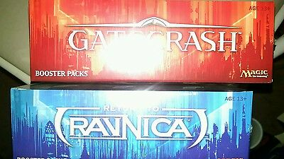 Mtg 2 box lot 1 ea rtr return to ravnica and gatecrash English booster sealed