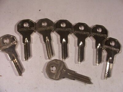 8  Briggs & Stratton  Nos  Master Key  For   Gm  1940 To 1970    Key Blank