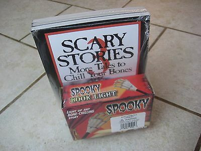 BRAND NEW SEALED Scary Stories To Tell In The Dark SET Of 3 Spooky