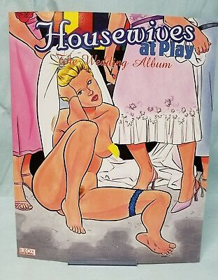 Housewives At Play The Wedding Album Sketchbook  By Rebecca Eros Comics