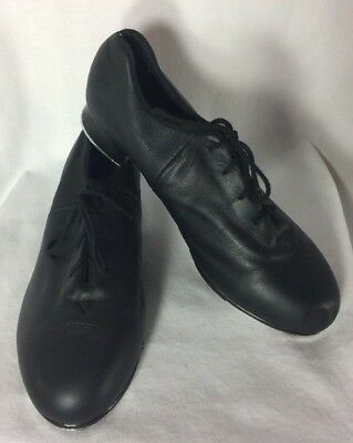 Bloch Shockwave Tap Shoes 9 M Leather Uppers Sole