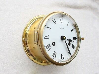 Ship Clock Schatz, mariner ,complete service by clockmaker ( by me ) !!!