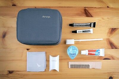 NEW Cathay Pacific First Class AESOP Amenity Kit, Male