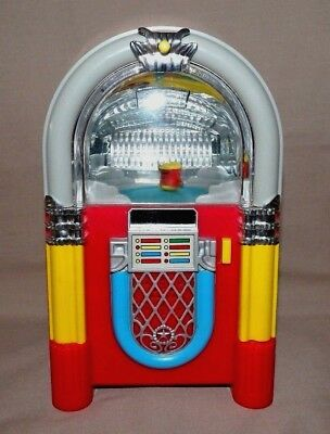 Juke Box Dancing Cool Jelly Bean Fig:activated To Music Juke Box **rare Item**