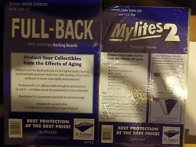 Pre-bagged Current Mylites2 with Fullback board - egerber