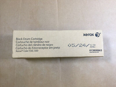 Genuine Xerox 013R00663 Black Drum for Xerox Color 550 560 570 C60 C70 Same Day