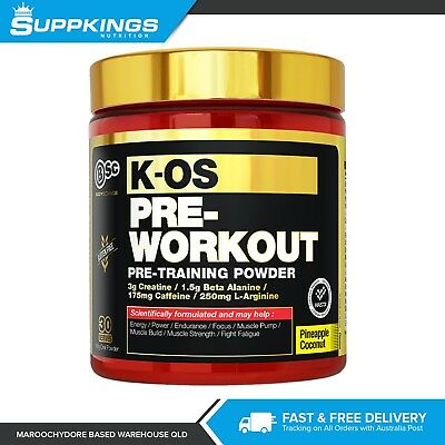 BSC Body Science K-OS Pre-Workout 180g / 30 Serve / C4 Type Pre Workout Powder