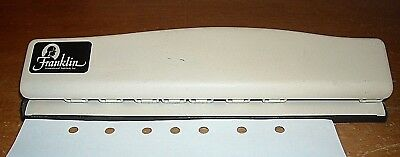 Franklin Covey Classic Planner 7-hole Punch