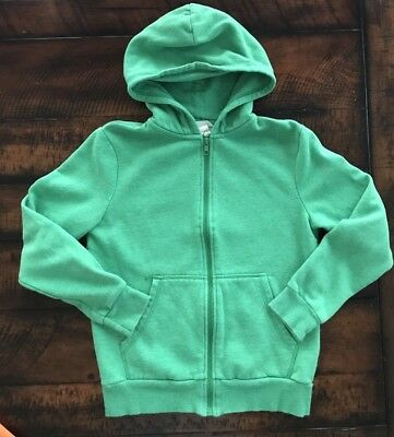 H&M Green Hooded Sweathirt,Boys Size 8-10 Years (US)~WORN ONCE!!!