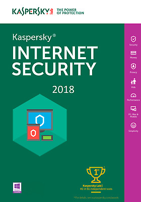 Kaspersky Internet Security 2018  1 PC  6 Monate / Download /