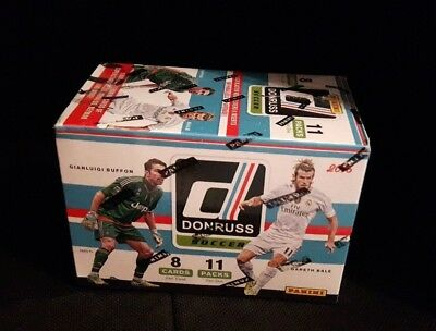 Donruss 2016 Soccer Blaster Box/Display, 11 Packs/88 Cards (Purple Pulisic?)