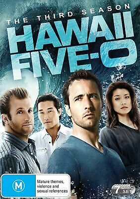 Hawaii Five 0 The Third Season 3 DVD Region 4 NEW