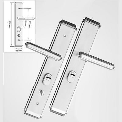 Stainless Steel Privacy Security Level Handle Lock Deadbolt Lock Body Set #2