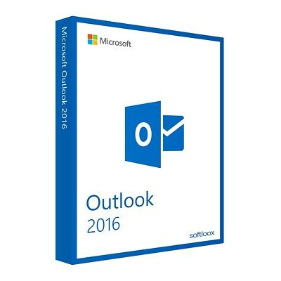 Microsoft Outlook 2016 1PC Original 32/64 Bit PC Windows Vollversion Produktkey