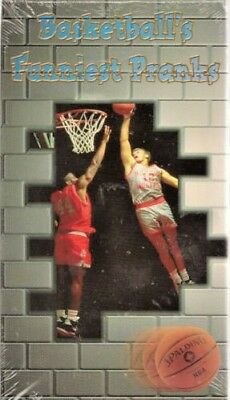 Basketballs Funniest Pranks (VHS) BUY 2 GET 3 FREE SEE OVER 1000 DIFFERENT ITEMS