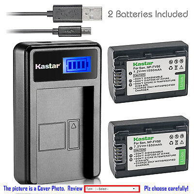 UpStart Battery NP-FP90 BC-TRP Replacement Battery Charger for Sony Cameras and Camcorders