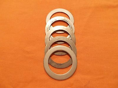 """2 1/2"""" (ID) x 1/8"""" Thick Steel Washers/Spacers---(Lot of 5)"""