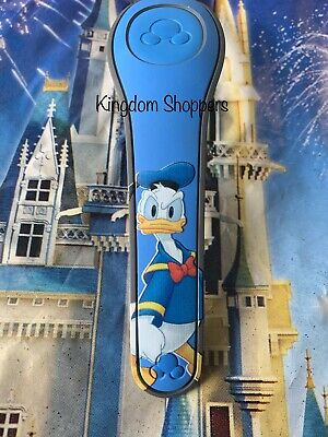 NEW DISNEY DONALD DUCK AUTOGRAPH BLUE Magic Band 2 Magicband Link Later