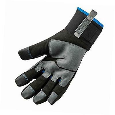 proflex 817 reinforced thermal winter work gloves, touchscreen capable, black,