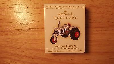 2006 Hallmark Keepsake Antique Tractors Miniature Ornament New In Box (#10)