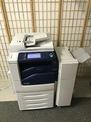 Xerox WorkCentre 7125 Color Laser Printer-Copier-Scanner w/ Finisher, So Florida