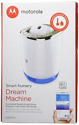 Motorola Smart Nursery Dream Machine Connected Sound & Light Projector w/ Audio