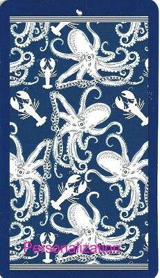 40 x 72 Vintage Octopus /& Lobster Oversized Beach Pool Towel Personalized