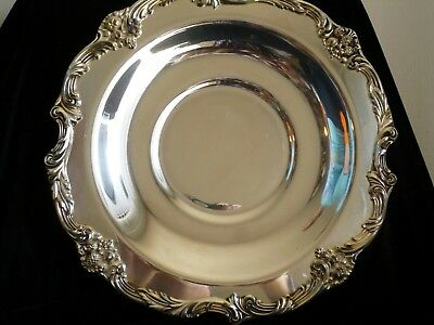 Reed & Barton 1678 sliverplated severing plate for sandwiches