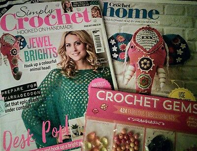 Amigurumi Magazine Uk : Simply crochet magazine issue with gifts £ picclick uk
