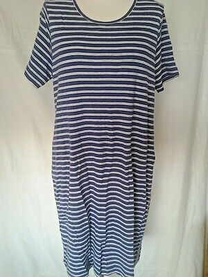 Adini 100/% Cotton 1x1 rib jersey T shirt short sleeve button detail to sleeves