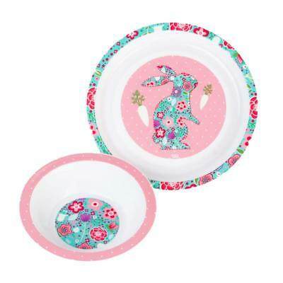 Vital Baby Rabbit 2 Piece Plate and Bowl Tableware Set