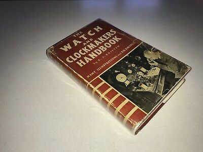 Watch and Clockmakers Handbook Dictionary Guide 14th Ed. 1938 Britten HC DJ