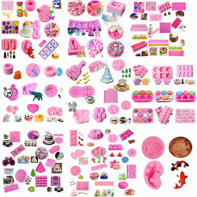 Silicone Fondant Mold Cake Decorating Candy Chocolate Sugarcraft Baking Mould