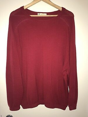 Marks & Spencer Jumper - 100% Lambswool - Size 117cm Like XXL - Made in UK