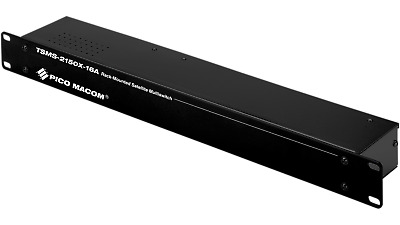 PICO MACOM TSMS 2150x-16A Multiswitch 2-In 16-Out With Power NEW TV Splitter