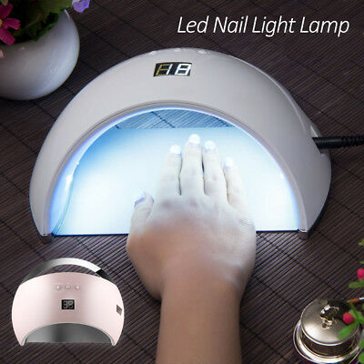 48W SUN6 LED Nail Light UV Lamp Manicure Dryer Curing Gel Polish Art 01