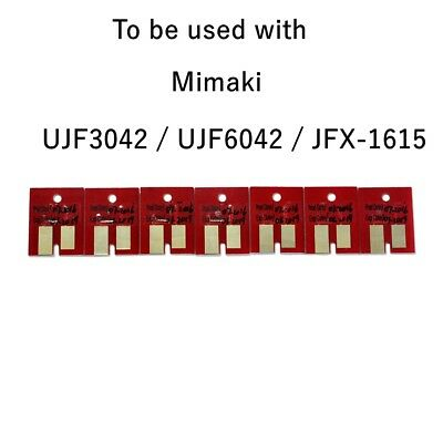 Chip permanent for Mimaki LF140-0728 UJF3042/ UJF6042 UV Cartridge CMYKLCLMWh